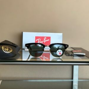 Other - 100% Authentic Ray-Ban Clubmasters Polarized